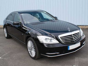 S Class London Roadshow Chauffeur