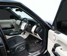 New Range Rover Front