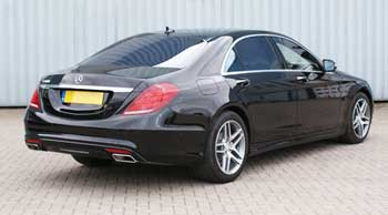 2014 Mercedes S Class Rear Angle