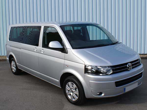 Chauffeur Driven VW Transporter