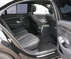 Mercedes S Class 2014 Rear Seating