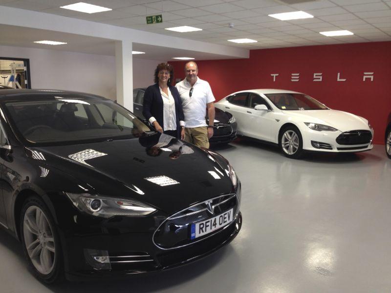Tesla Model S Chauffeur